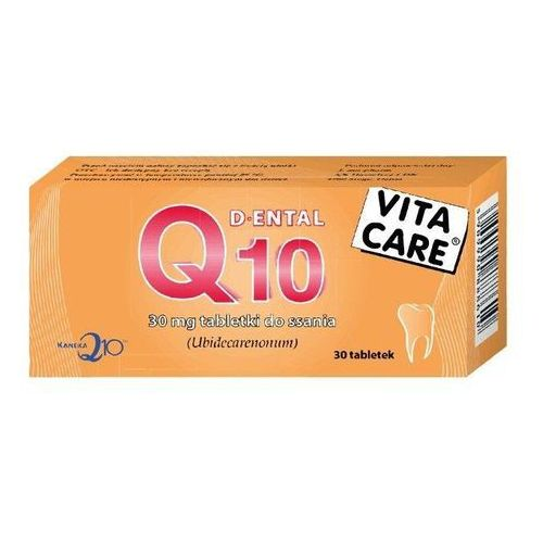 Ferrossan Q10 dental vita care 30mg x 30 tabletek do ssania