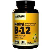 Witaminy JARROW FORMULAS Methyl B-12 1000mcg 100 past Najlepszy produkt