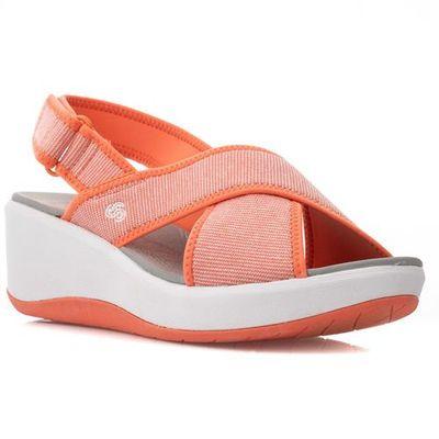 Sandały damskie Clarks Sneaker Peeker