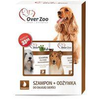 Over Zoo Świąteczny Dwupak Szampon + Odżywka dla psów długowłosych + Sznurek!, 14351