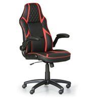 Krzesło biurowe Game, czarny/czerwone