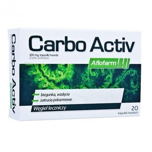 Aflofarm Carbo active 200mg x 20 kapsułek