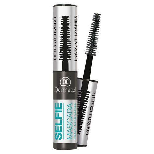 selfie mascara instant long lashes   wydłużający tusz do rzęs - kolor czarny 6ml marki Dermacol