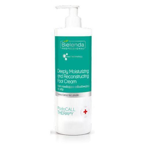 Bielenda professional deeply moisturizing and reconstructing foot cream krem nawilżająco-odbudowujący do stóp (500 ml) - Promocyjna cena