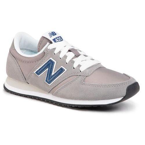 New balance Sneakersy - u420mmt szary