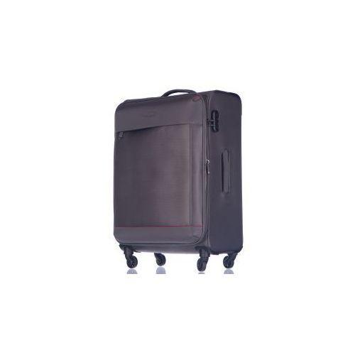 c1764bc45ac92 PUCCINI PUCCINI walizka średnia z kolekcji AMSTERDAM miękka 4 koła materiał  Nylon zamek szyfrowy możliwość poszerzenia