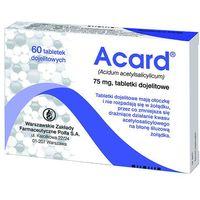 Acard 75 mg x 60 tabl (5909990672523)
