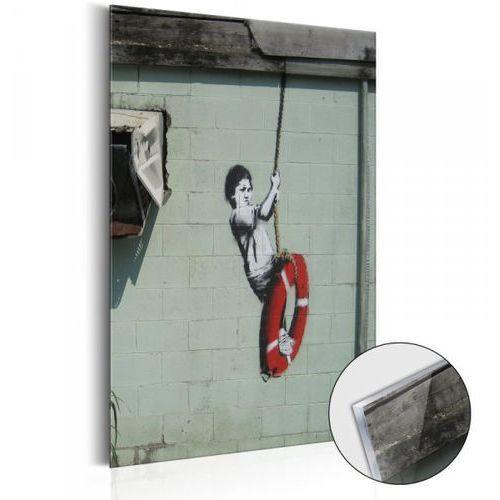 Artgeist Obraz na szkle akrylowym - swinger, new orleans - banksy [glass]