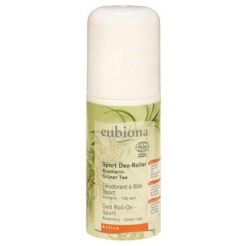 Eubiona Dezodorant roll-on dla aktywnych z rozmarynem i zieloną herbatą