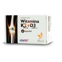Witamina D3 2,000IU+K2-MK7 100mcg 60kaps.