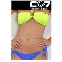 SET Kąpielowki CC7 BRASILIANO NEON + SUPER BRIEFS ELECTRIC BLUE no. 11