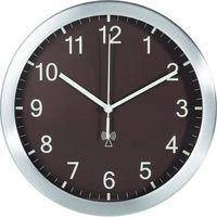 Tfa Zegar ścienny analogowy  98.1091.08 sterowany radiowo, brązowy, (Øxg) 25 cmx4 cm