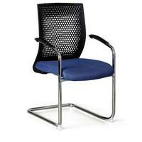 Krzesło konferencyjne Amenities, niebieskie