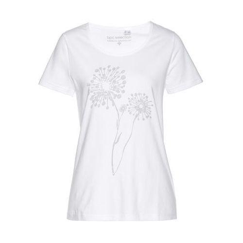 T-shirt bonprix biały