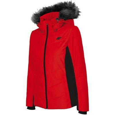 b2f269593 4f Damska kurtka narciarska z18 kudn007 62s czerwony/czarny m opensport