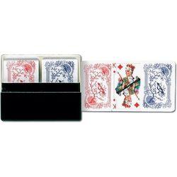 Karty do gry Piatnik 2 talie Minipasjans