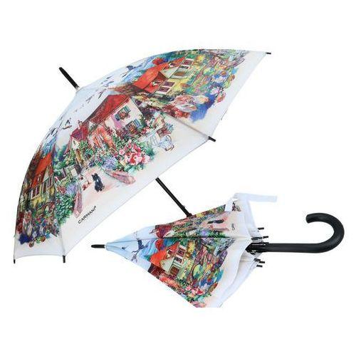 Parasolka parasol przeciw deszczu kolorowy dworek marki Carmani