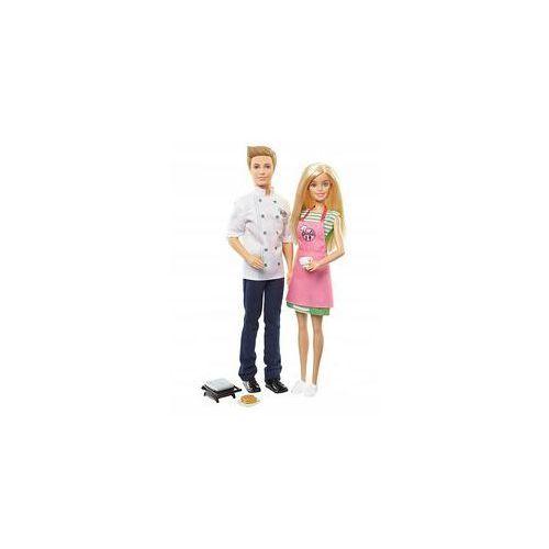 Barbie I Ken Zestaw Kuchnia Mattel