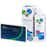 TopVue Premium for Astigmatism (3 soczewki)