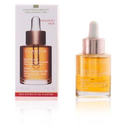 rebalancing care olejek łagodząco-regenerujący do skóry suchej night (santal face treatment oil for dry skin) 30 ml marki Clarins - zdjęcie
