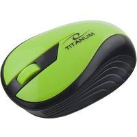 Mysz bezprzewodowa TITANUM Rainbow TM114G Zielony, TM114G