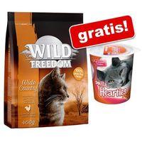 """400 g Wild Freedom + Przysmak odkłaczający Smilla Hearties, 125 g gratis! - Wild Freedom Adult """"Wild Hills"""" – Kaczka"""