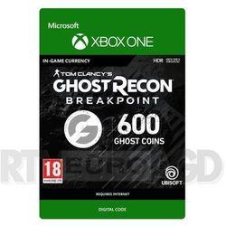 Tom Clancy's Ghost Recon: Breakpoint 600 Ghost Coins [kod aktywacyjny] Xbox One, 7F6-00216