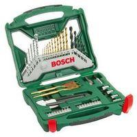 Zestaw narzędzi Bosch 50-częściowy X-Line titan Czarna/Srebrna/Złota/Tytan
