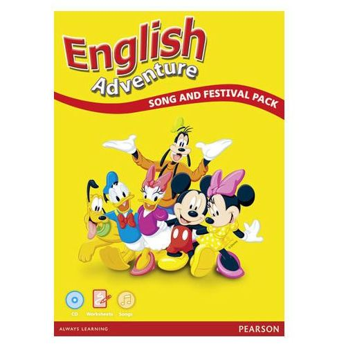 English Adventure. Song And Festival Pack (9781408284704)