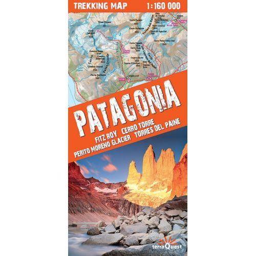 MAPA PATAGONIA TREKKING LAMINOWANA