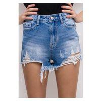 Szorty jeans poszarpane