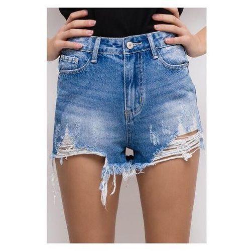 Szorty jeans poszarpane, jeans