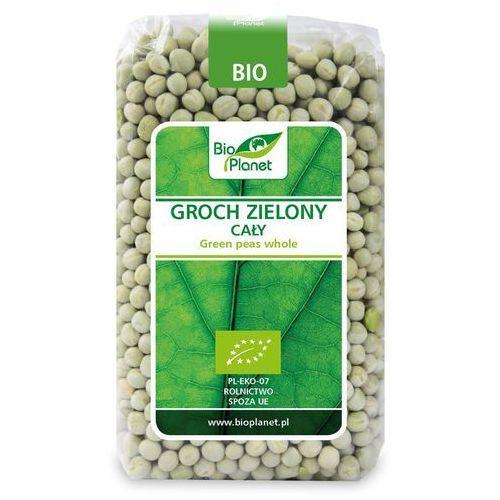 Bio planet - seria zielona (strączkowe) Groch zielony cały bio 500 g - bio planet