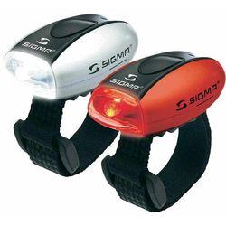 sigma zestaw lamp rowerowych micro marki Sigma