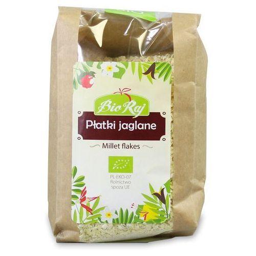 Bio raj (konfekcjonowane) Płatki jaglane bio 200 g bio raj (5907738151187)
