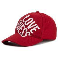 Czapka z daszkiem GUESS - Haidee (GL) Hats AW8338 COT01 RED