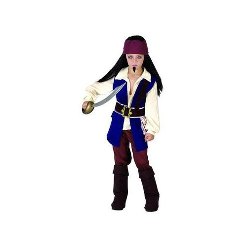 Godan Kostium pirat z karaibów - 120/130 cm - m - 120/130 cm
