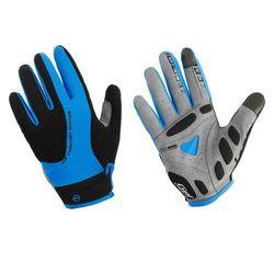 Accent 610-80-54_acc-xl rękawiczki z długimi palcami champion czarno-niebieskie xl