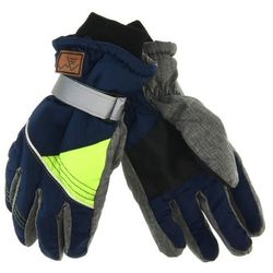 Scorpio Rękawiczki narciarskie dla dzieci - zielony ||granatowy