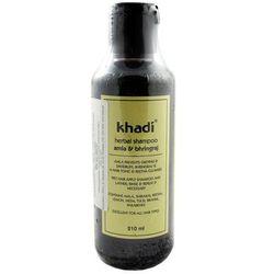 Mycie włosów Khadi Mydlana Bańka