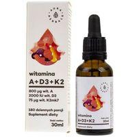 Krople Witamina A + D3 + K2MK7 krople 30 ml
