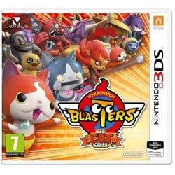 Yo-kai watch: blasters red cat gra 3ds nintendo marki Nintendo