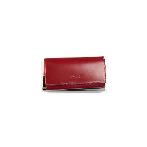 4af2660c964ab Duży portfel damski skórzany rd 12 bal r czerwony (Lorenti) - sklep ...