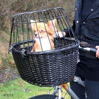 Trixie kosz wiklinowy na rower 50x41x35cm 2818