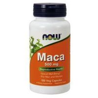 NOW FOODS Maca 500mg. 100caps.