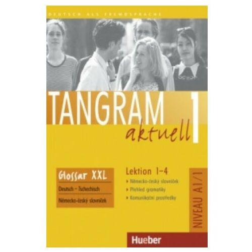 Tangram Aktuell 1, Lektion 1 - 4:: Glossar Xxl Deutsch - Tschechisch (9783191118013)