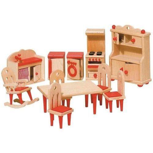 Drewniana Kuchnia Dla Dzieci Z Wyposażeniem Ecotoys