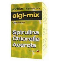 Algi-mix - Spirulina, Chlorella, Acerola w jednym.