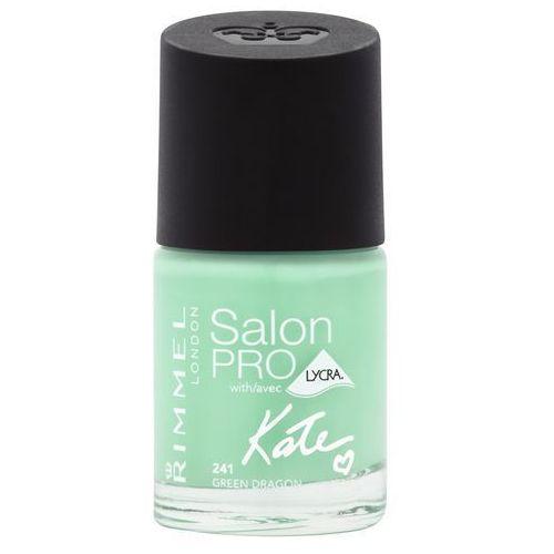 Rimmel London Salon Pro Kate lakier do paznokci 12 ml dla kobiet 241 Green Dragon