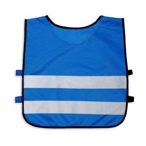 Kamizelka odblaskowa dla dzieci xs 90-110cm - xs \ niebieski marki Kamdo